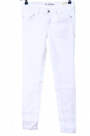 Jona Stretch Jeans white casual look