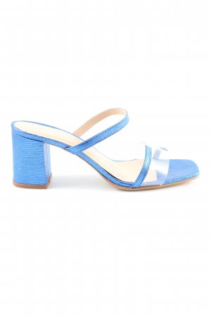 Jonak High Heel Sandaletten blau Casual-Look