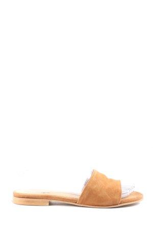 Jonak Sandales confort orange clair style décontracté