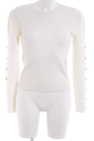 Jonathan Simkhai Knitted Sweater natural white street-fashion look