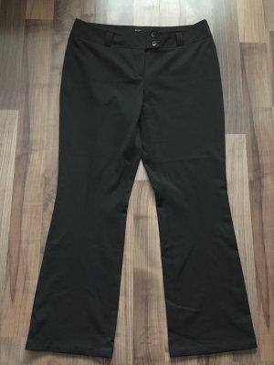 JONES Bundfaltenhose, elegante Hose schwarz, Gr. 46, wie Neu