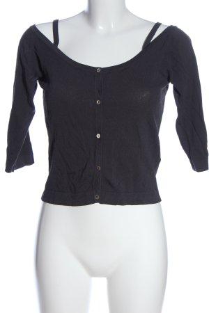 Jones Cropped Shirt schwarz Casual-Look