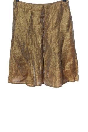 Jones High Waist Rock bronzefarben Casual-Look