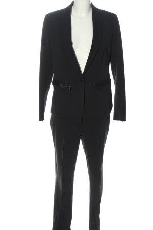 Jones Tailleur pantalone nero stile professionale
