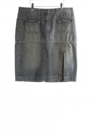 Jones Denim Skirt light grey casual look