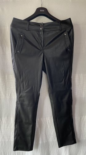 Jones Leather Trousers black