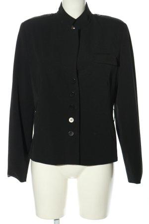 Jones Korte blazer zwart casual uitstraling