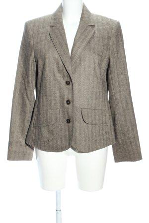 Jones Kurz-Blazer khaki Streifenmuster Business-Look