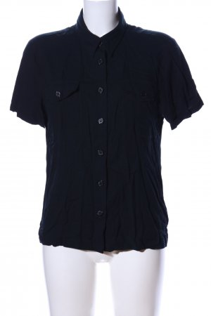 Jones Kurzarm-Bluse schwarz Casual-Look