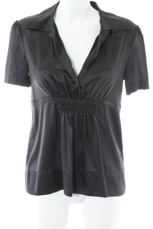 Jones Kurzarm-Bluse schwarz Elegant