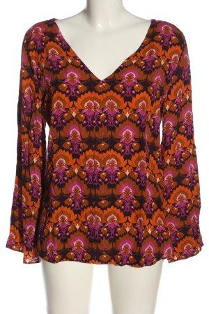 Jones Langarm-Bluse mehrfarbig Casual-Look