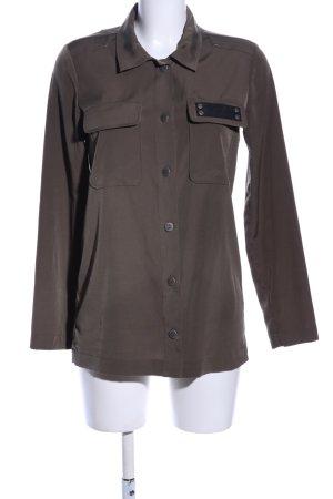 Jones Langarm-Bluse braun Casual-Look