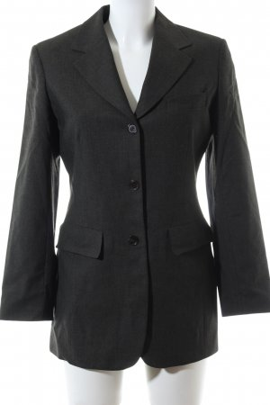 Jones Long-Blazer hellgrau meliert Business-Look