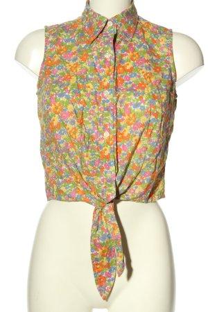 Jones New York Sleeveless Blouse flower pattern casual look