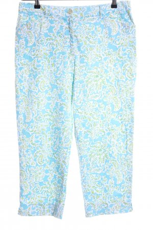 Jones New York Pantalon capri imprimé allover style décontracté
