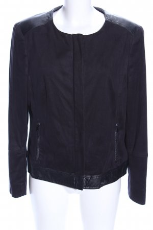 Jones New York Kunstlederjacke schwarz Casual-Look