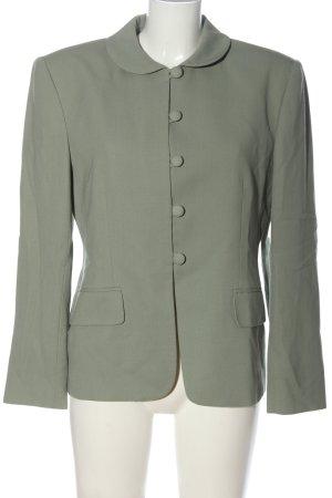 Jones New York Wool Blazer light grey weave pattern casual look