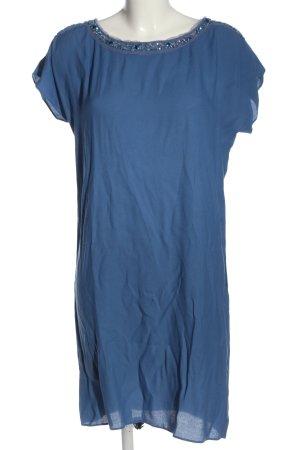 Jones Cekinowa sukienka niebieski W stylu casual