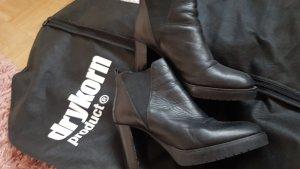 Jones Slip-on Booties black leather