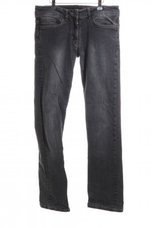 Jones Slim Jeans schwarz Business-Look