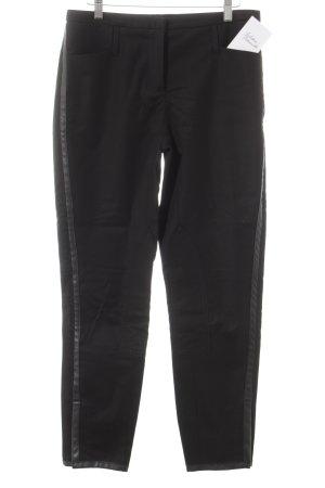 Jones Stoffhose schwarz schlichter Stil