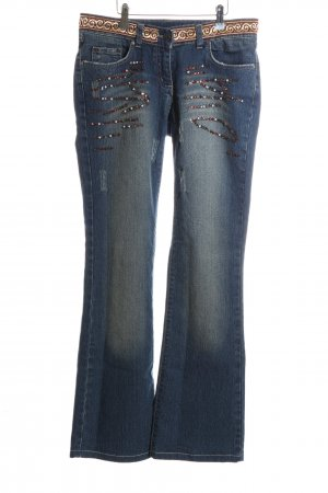 Jones Straight-Leg Jeans blau Casual-Look