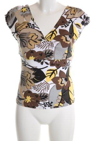 Jones T-Shirt Blumenmuster Casual-Look