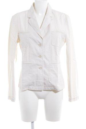 Jones Tweed blazer licht beige zakelijke stijl