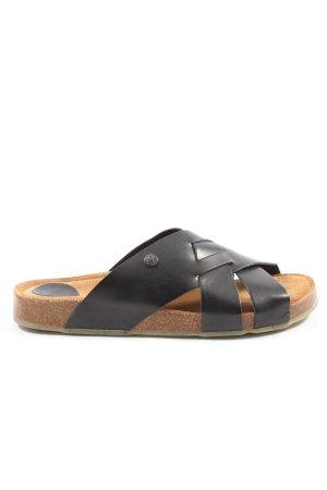 Jonny's Sandalo comodo nero stile casual