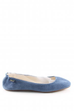 Jonny's Mary Jane Ballerinas blue casual look
