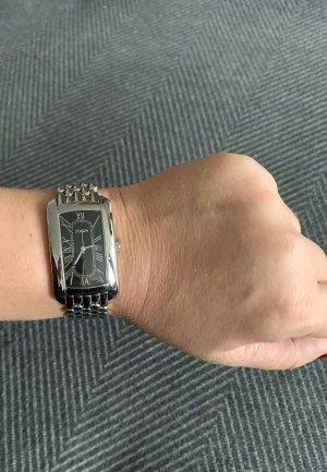 Joop! Horloge met metalen riempje zilver