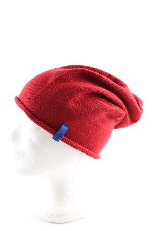 Joop! Berretto rosso stile casual