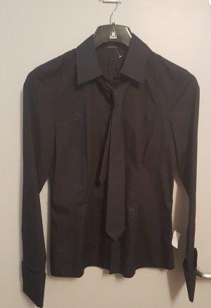 JOOP! Bluse mit Krawatte schwarz Gr. 36