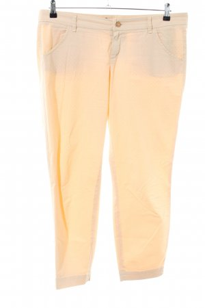 Joop! Chinohose creme Allover-Druck Casual-Look