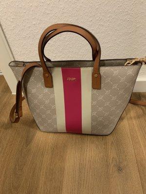 Joop Cortina Due Tasche Handtasche Beige grau pink
