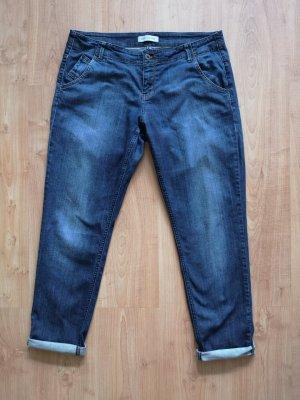 Joop! Jeans Boyfriend jeans blauw Katoen