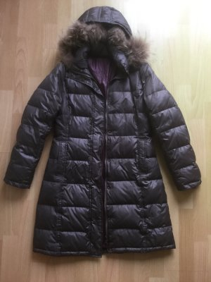 Joop! Jeans Down Coat grey brown