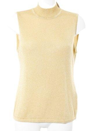 Joop! Feinstrickpullunder goldfarben-sandbraun Zopfmuster extravaganter Stil