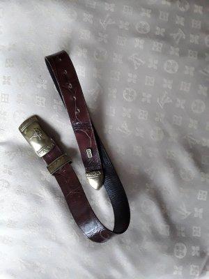 Joop! Cinturón color oro-marrón
