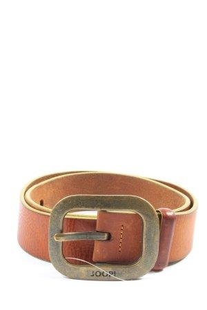 Joop! Hebilla del cinturón marrón estilo «business»