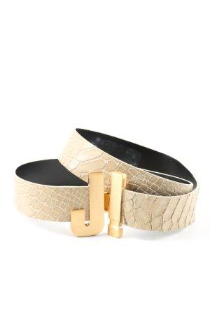 Joop! Belt Buckle gold-colored allover print casual look