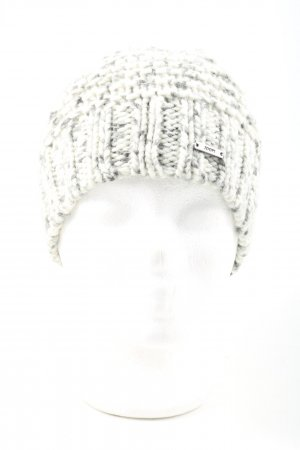 Joop! Crochet Cap natural white-light grey flecked casual look