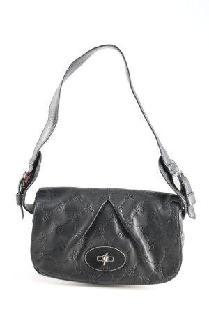Joop! Handtasche schwarz Blumenmuster Casual-Look