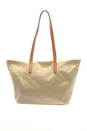 Joop! Handtasche goldfarben Allover-Druck Casual-Look