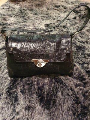 Joop Handtasche/Henkeltasche klassisch schwarz mit silber