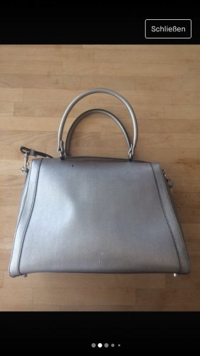 Joop Handtasche metallic silber