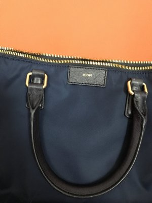 Joop HELENA tote email Nylon with leather blue