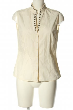 Joop! Blusa-camisa crema look casual