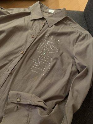 Joop Hemd khaki  mit Swarovski Steinen Gr.44