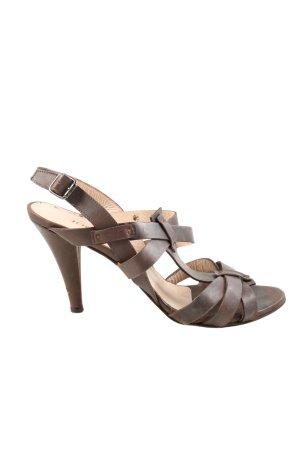 Joop! Sandaletto con tacco alto marrone stile casual